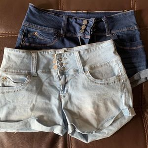 Wanna Betta Butt High Waisted Shorts 2for1 Bundle